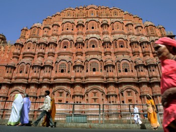 Indien mit Kindern - Indien for family - Jaipur Palast der Winde