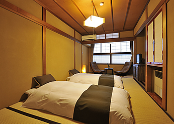 Japan mit Kindern - Japan for family - Hotel Hotakaso Yamano-Iori - Zimmer