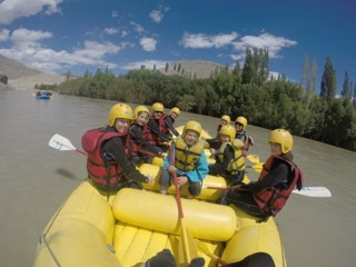 Ladakh mit Kindern - Ladakh Teens on Tour - Rafting