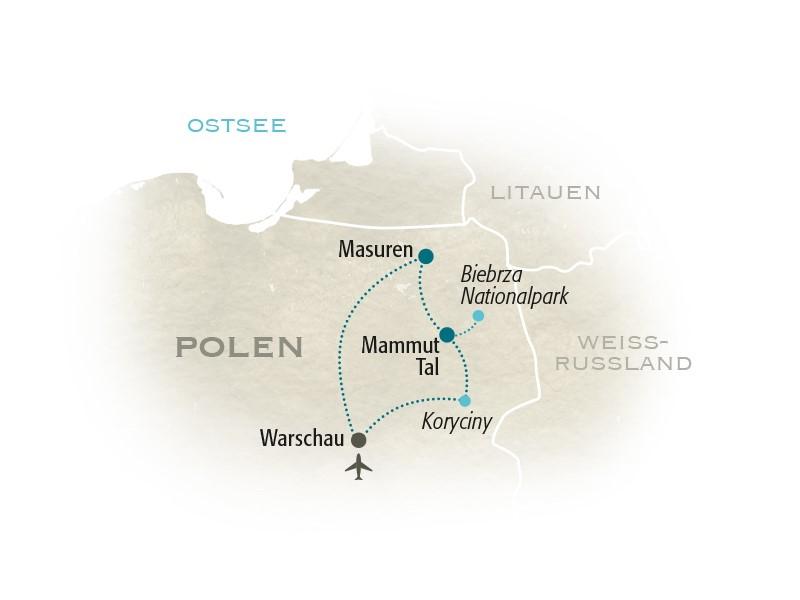 Polen Karte 2019.Polen For Family Die Polen Familienreise Mit For Family Reisen