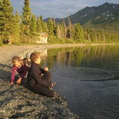Familienreise Kanada - Kanada for family - am See