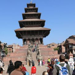 Nepal mit Kindern - Nepal for family - Tempel in Bhaktapur