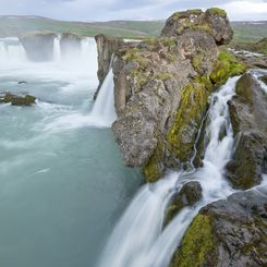 Island Familienreise - Island for family individuell - Wasserfall in Nordisland
