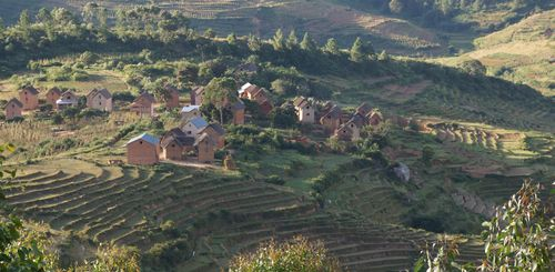 Madagaskar Familienreise - Madagaskar for family - Landschaft Highlands