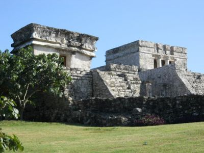 Mexiko Familienreise - Mexiko for family - Tulum Tempel