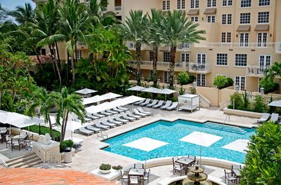 Florida Rundreise mit Kindern - Miami JW Marriott Turnberry - Pool