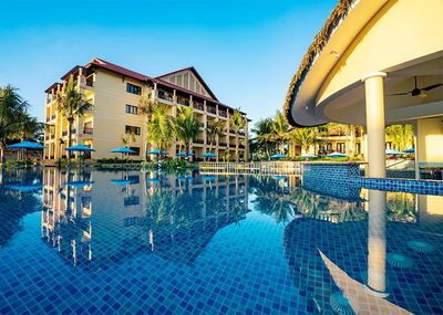 Vietnam Familienreise - Vietnam for family - Pandanus Resort Pool