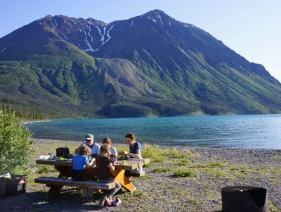 Familienurlaub Kanada - Kanada for family - Abendessen am Kingsthrone