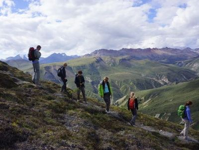 Familienurlaub Kanada - Kanada for family - Wanderung am Sheepmountain