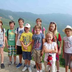 China mit Teenagern - China Family & Teens - Kinder in den Reisterrassen