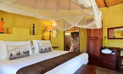 Botswana Familienreise - Botswana for family individuell - Kazuma Forest Reserve - Wildtrack Safaris Eco Lodge - Zimmer