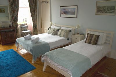 Schottland Familienreise - Schottland for family individuell - The Bonnington Guest House Zimmer