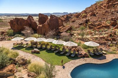 Namibia Familienreise - Namibia for family individuell - Damaraland - Twyfelfontein Country Lodge