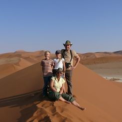 Namibia mit Kindern - Namibia for family - Familie Stoll