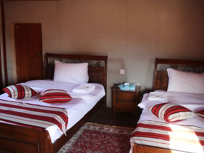 Familienurlaub Oman - Oman for family - 1000 Nights Camp Zimmer