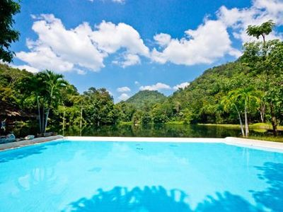 Familienurlaub Thailand - Thailand for family - Phutoey River Kwai Pool
