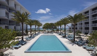 Florida Rundreise mit Kindern - Sarasota Zota Beach Resort - Pool