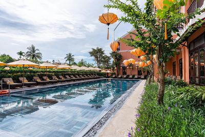Vietnam & Kambodscha Familienurlaub - Hoi An - Allegro Hoi An Little Luxury Hotel - Pool
