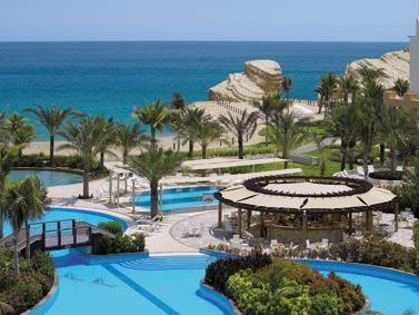 Oman mit Kindern - Shangri-La Barr Al Jissah Resort & Spa - Pool