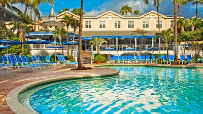Florida Rundreise mit Kindern - Key West Sheraton Suites - Pool