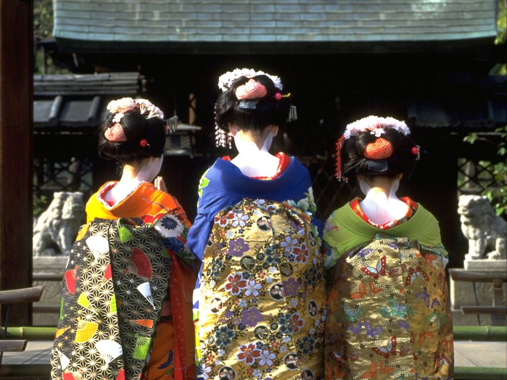 Japan mit Kindern - Japan for family - Geishas