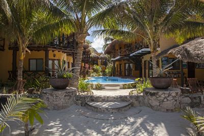 Mexiko Familienreise - Mexiko for family - Hotel Holbox Dream Swimmingpool