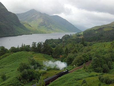 Schottland mit Kindern - Jacobite Steam Train