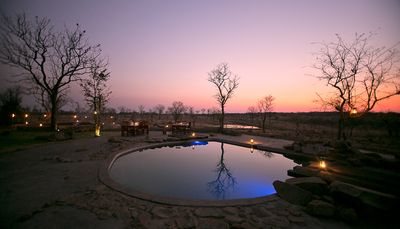 Botswana Familienreise - Botswana for family individuell - Kazuma Forest Reserve - Wildtrack Safaris Eco Lodge - Pool