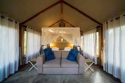 Namibia Familienreise_Namibia for family individuell - Etosha Nationalpark - Mushara Bush Lodge & Camp - Zimmer