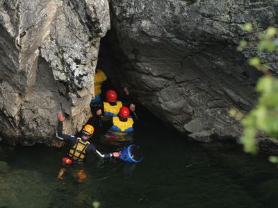 Norwegen Familienreise - Norwegen for family - Canyoning