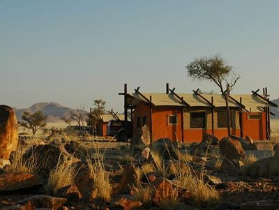 Namibia mit Kindern - Namibia for family - Desert Camp