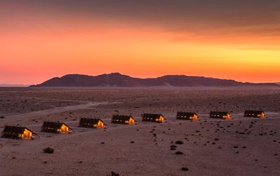 Namibia mit Kindern - Namibia for family - Desert Quiver Camp Panorama