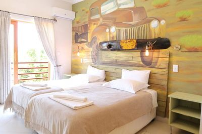 Namibia Familienreise individuell - Zimmer im Windhoek Gardens Guest House