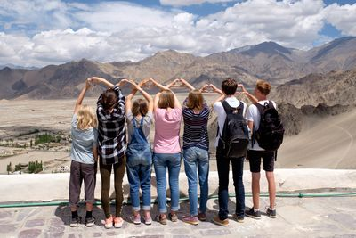 Ladakh mit Kindern - Ladakh Teens on Tour - Reisegruppe