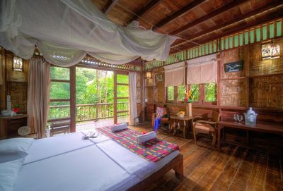 Thailand mit Kindern - Khao Sok Nationalpark - Our Jungle Camp Zimmer