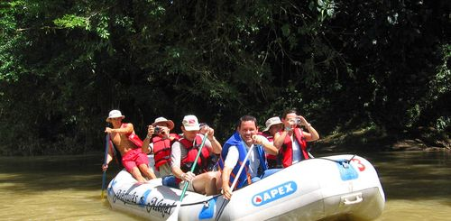 Familienreise Costa Rica - Costa Rica for family individuell - Rafting