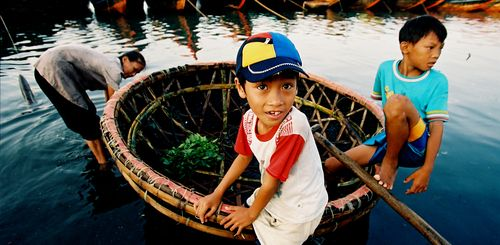 Vietnam mit Kindern - Vietnam for family individuell - Kinder am See