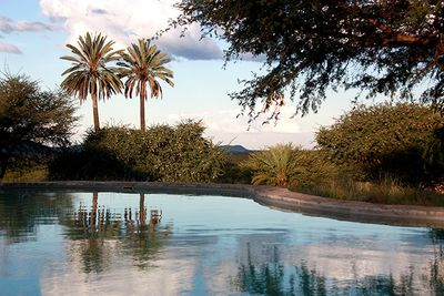 Namibia Familienreise - Namibia for family individuell - Otavi - Ghaub Lodge - Pool