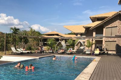 Familienurlaub Costa Rica - Costa Rica for family - Nammbu Beach Lodge Pool
