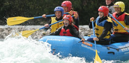 Norwegen mit Kindern - Norwegen for family - Rafting