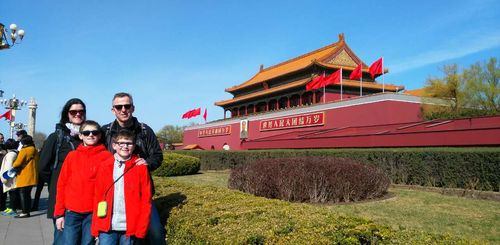 China mit Teenagern - China Family & Teens - Kaiserpalast