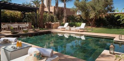 Familienurlaub Marokko - Marokko for family Summer - Marrakesch - Fairmont Royal Palm - Pool