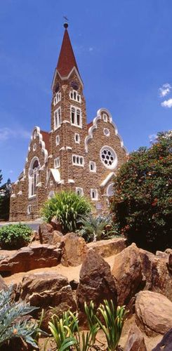 Namibia mit Kindern - Namibia for family - Christuskirche in Windhoek