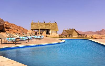 Namibia mit Kindern - Namibia for family - Desert Quiver Camp Pool
